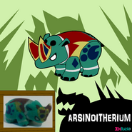 Arsinoitherium by turb0s0ic333 dddjjfb
