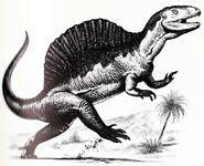 B&WSpinosaurus