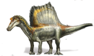 Spinosaurus Four Legs