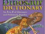 Dinosaur Dictionary (Book)