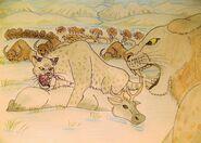 Big cats of beringia by wdghk da35vyx