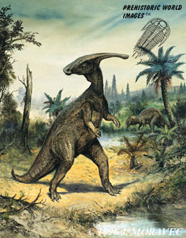 File:Parasaurolophus BW.jpg