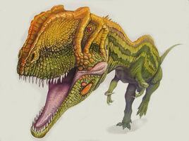 Yangchuanosaurus BW