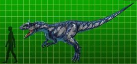 Cryolophosaurus CW
