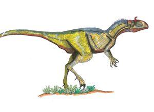 54 Cryolophosaurus