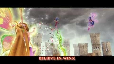 Winx Club 2 Winx VS Witch Final Battle! Rai English HD!