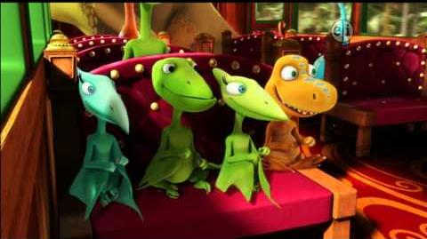 Dinosaur Train S02 Remember the Alamosaurus; Sunrise, Sunset ENGLISH
