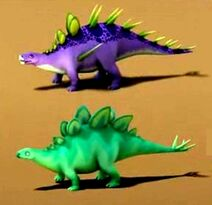 KentrosaurusStegosaurus