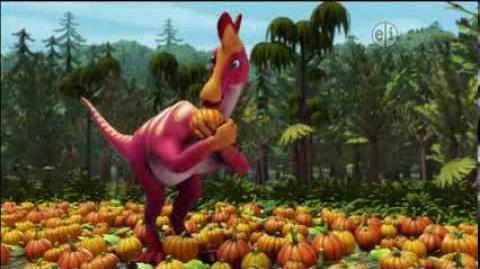 Dinosaur Train S02 Haunted Roundhouse; Big Pond Pumpkin Patch ENGLISH