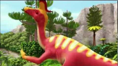 Dinosaur Train S02 Dry Times at Pteranodon Terrace; Big Misty Sea Fishing Contest ENGLISH