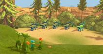 Пастбища Амаргазавров