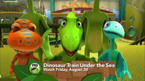Dinosaur Train Under the Sea PBS KIDS