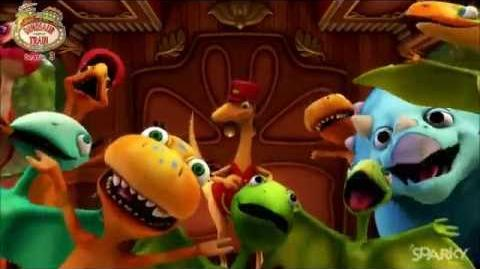 Dinosaur train adventure camp theme Song