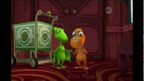 Dinosaur Train - Gilbert the Junior Conductor