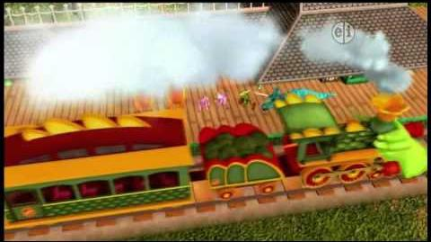 Dinosaur Train S01 Dinosaur Camouflage Family Scavenger Hunt ENGLISH