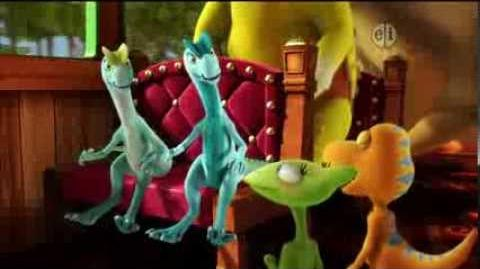 Dinosaur Train S02 Double Crested Trouble; Erma and the Conductor ENGLISH