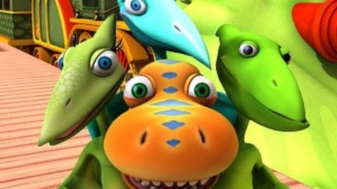 Dinosaur Train S02 That's Not a Dinosaur; Tiny's Garden ENGLISH