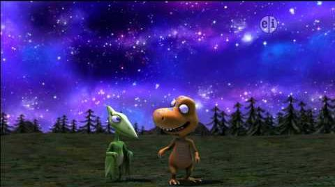 Dinosaur Train S02 Stargazing on the Night Train; Get Into Nature! ENGLISH