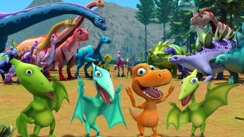 Dinosaur Train S02 Junior Conductor Jamboree Troodon Train Day ENGLISH
