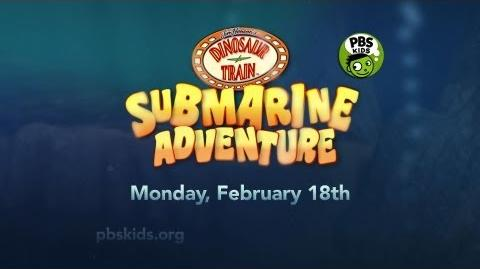 "DINOSAUR TRAIN ""Submarine Adventure"" Premieres Feb. 18, 2013 on PBS KIDS"