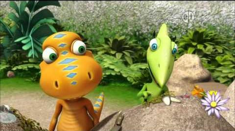 Dinosaur Train S02 Dome Headed Dinosaur; Treasure Hunt ENGLISH