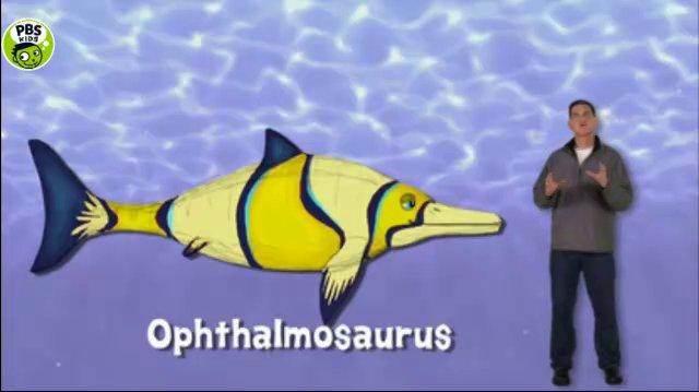 Dr Scott - Ophthalmosaurus