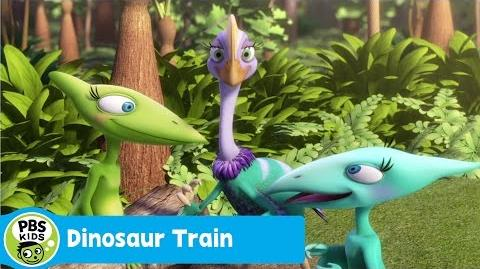 DINOSAUR TRAIN A World Under a Log PBS KIDS