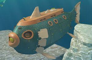 Подводная лодка Динозавров