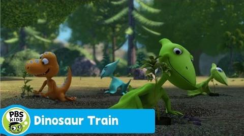 DINOSAUR TRAIN Planting Trees PBS KIDS