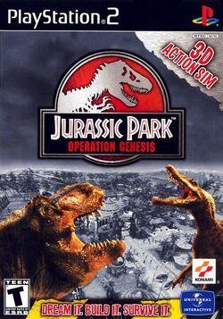 JurassicParkOperationGenesis PlayStation2