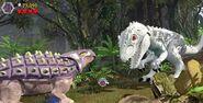 Ankylosaurus vastaan indominus lego jurassic world