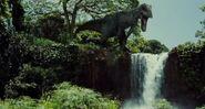 Indominus rex kielekkeellä JW elokuva