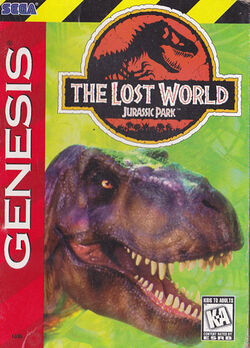 The Lost World Jurassic Park pelin US cover