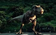 Tyrannosaurus rexy jurassic world 2015