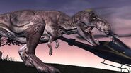 Jurassic Park the game tyrannosaurus rex rexy 2