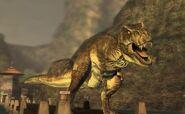 Tyrannosaurus Rexy Jurassic Park The Game