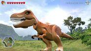 Lego jurassic world tyrannosaurus rex 1