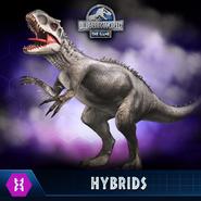 Jurassic World the game indominus rex