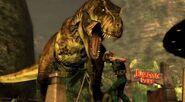 Jurassic Park the game tyrannosaurus rex rexy 5
