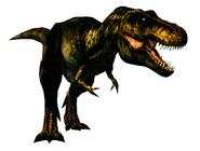 Arcade tyrannosaurus naaras mommy
