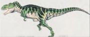 Jurassic Park 1990-1993 konseptitaidetta tyrannosaurus rex
