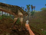 Jurassic Park Trespasser tyrannosaurus rex 4