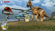 Lego jurassic world parasaurolophus 2