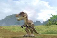 Tyrannosaurus poikanen Lego jurassic world