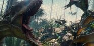 Pteranodon Dimorphodon indominus rex jurassic world lintuhäkki aviary