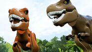 Lego jurassic world tyrannosaurus rex 2