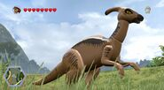 Lego Jurassic World parasaurolophus