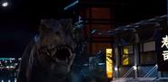 Jurassic World 2015 tyrannosaurus rex Rexy 2