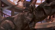 Jurassic Park 1993 tyrannosaurus rex rexy velociraptor vierailukeskus 3