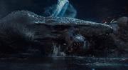 Mosasaurus tappaa indominuksen